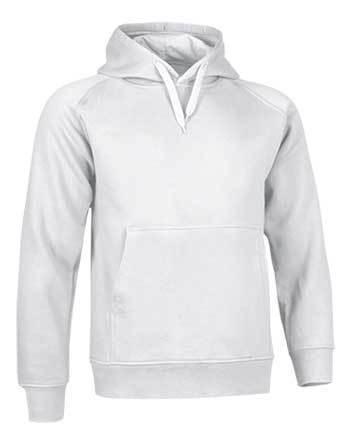 2cda1756c3460 Sudadera capucha  blanca - Aparatos-Ropa Rítmica SHINTO